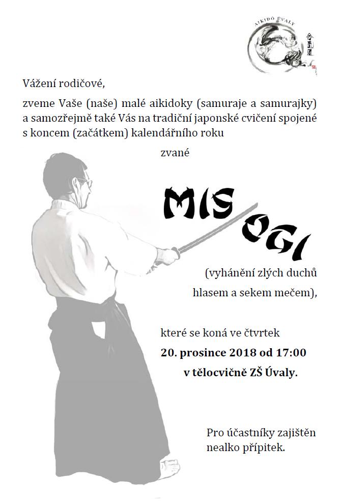 Misogi @ Tělocvična ZŠ Úvaly